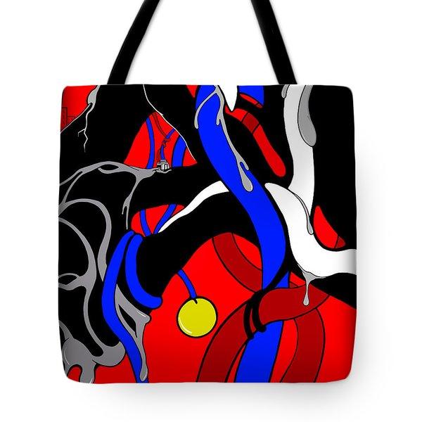 Corrosive Tote Bag