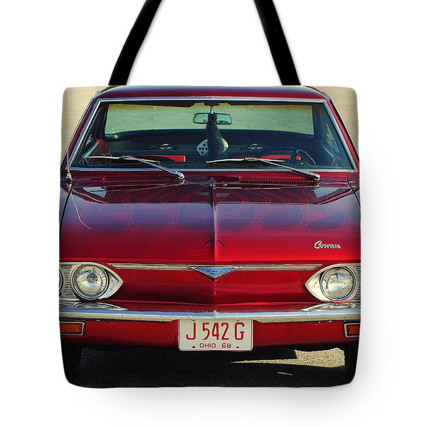 Corvair Tote Bag by Frozen in Time Fine Art Photography