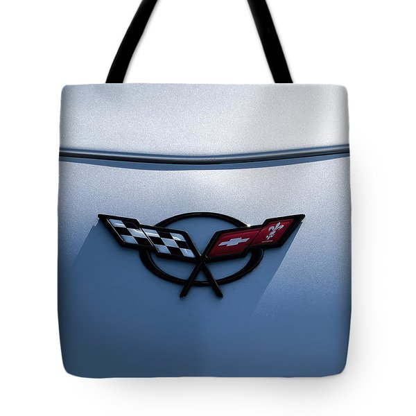 Corvette C5 Badge Tote Bag