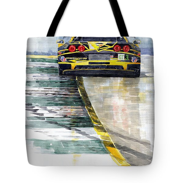 Corvette C6 Tote Bag