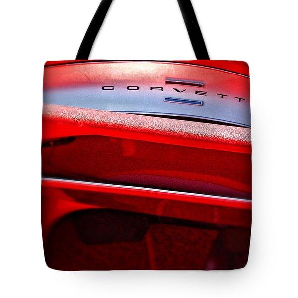 Corvette Dash - Mike Hope Tote Bag