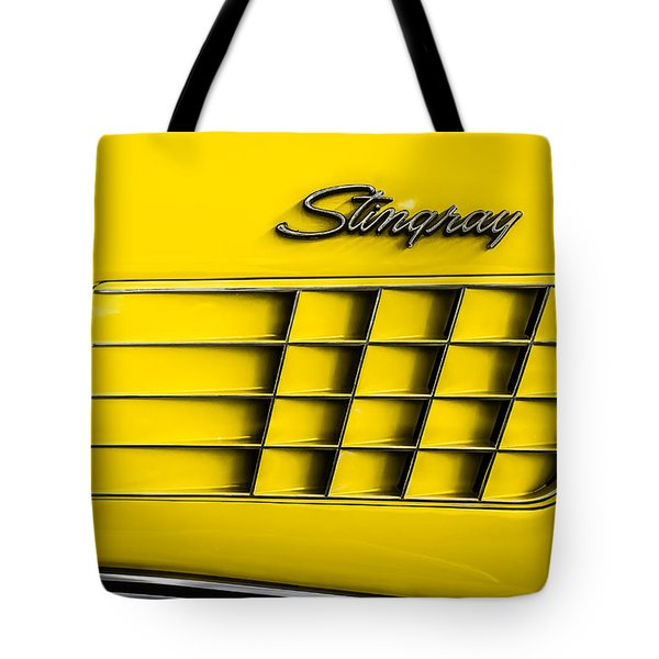 Tote Bag featuring the photograph Corvette Gills by Ron Pate