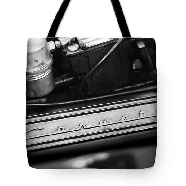 Corvette Valve Cover Tote Bag