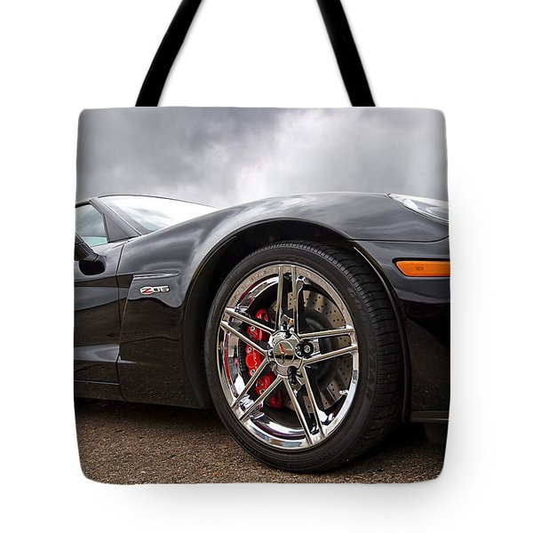 Corvette Z06 Tote Bag
