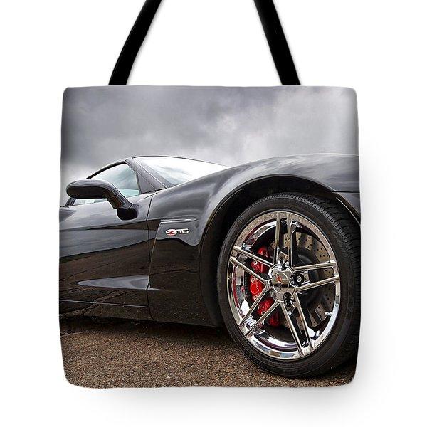 Corvette Z06 Tote Bag
