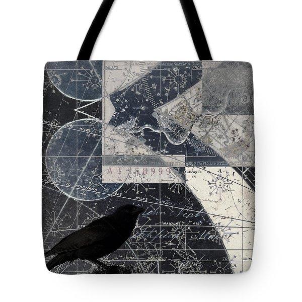 Corvus Star Chart Tote Bag