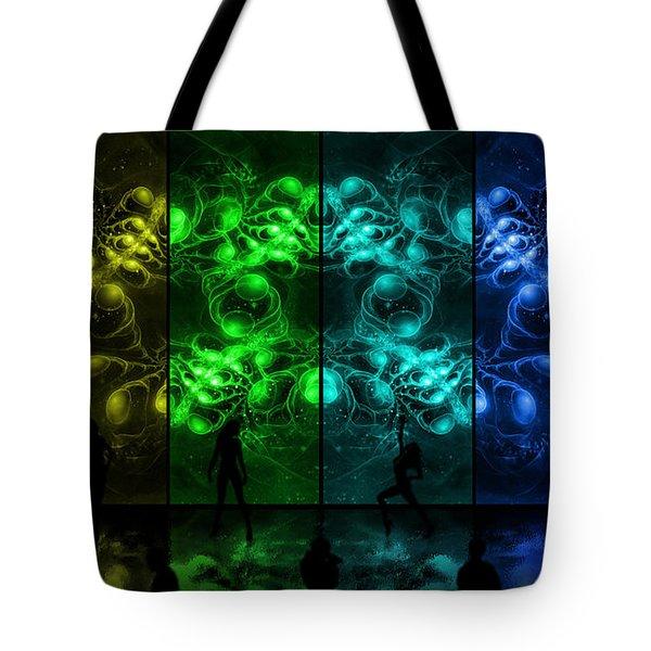 Cosmic Alien Vixens Pride Tote Bag