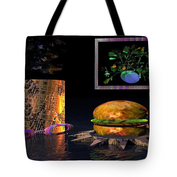 Cosmic Burger Tote Bag