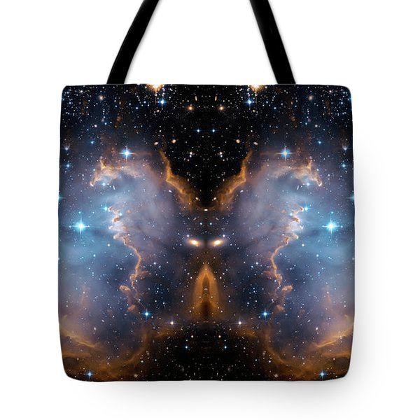 Cosmic Butterfly Tote Bag by Jennifer Rondinelli Reilly - Fine Art Photography