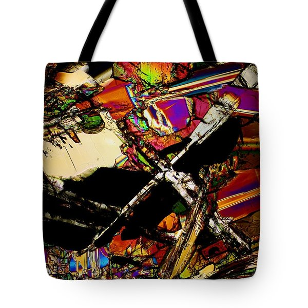 Cosmic Cross Tote Bag