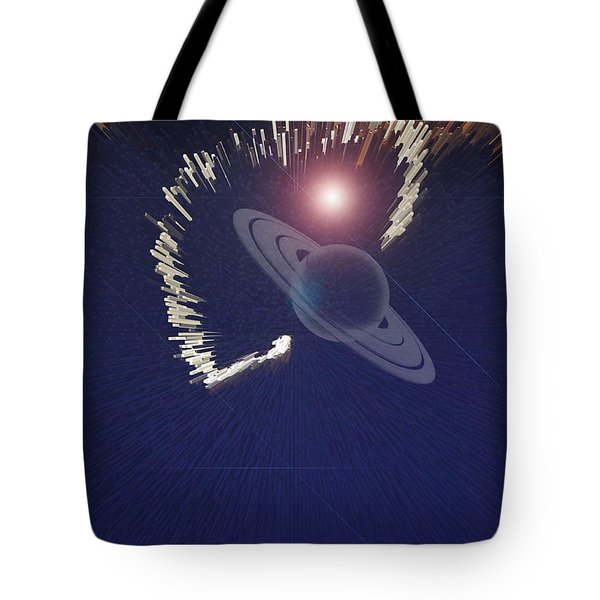Cosmic Event Tote Bag by Augusta Stylianou