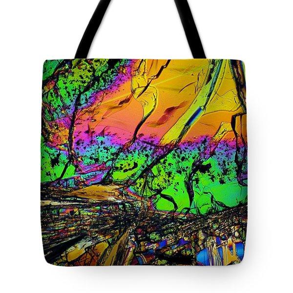Cosmic Explosion Tote Bag