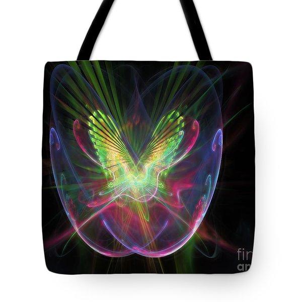Cosmic Flight Tote Bag by Peter R Nicholls