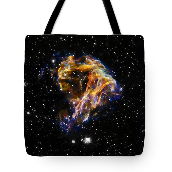 Cosmic Heart Tote Bag by Jennifer Rondinelli Reilly - Fine Art Photography