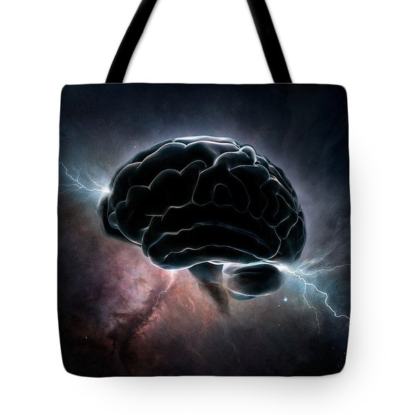 Cosmic Intelligence Tote Bag