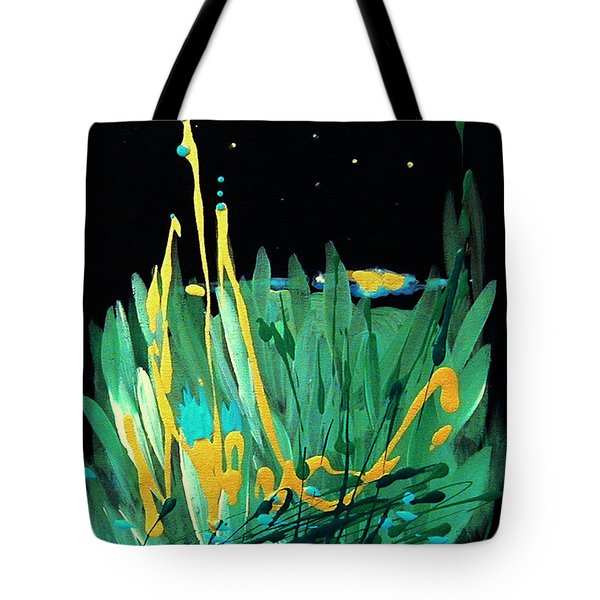 Cosmic Island Tote Bag
