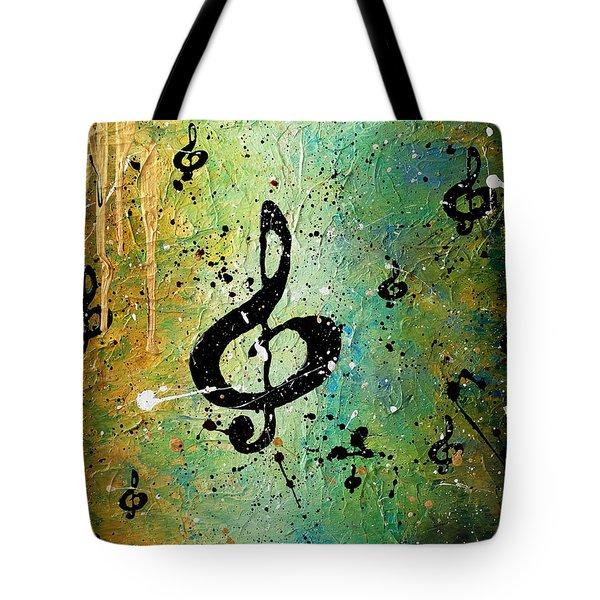 Cosmic Jam Tote Bag