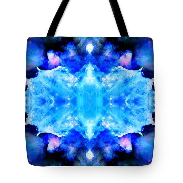 Cosmic Kaleidoscope 1 Tote Bag by Jennifer Rondinelli Reilly - Fine Art Photography