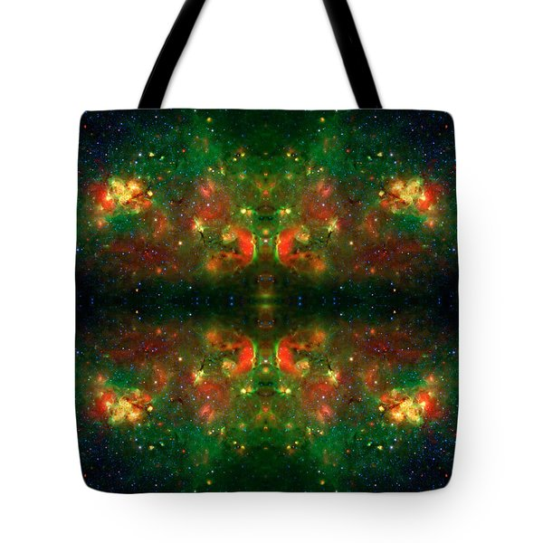 Cosmic Kaleidoscope 3 Tote Bag by Jennifer Rondinelli Reilly - Fine Art Photography