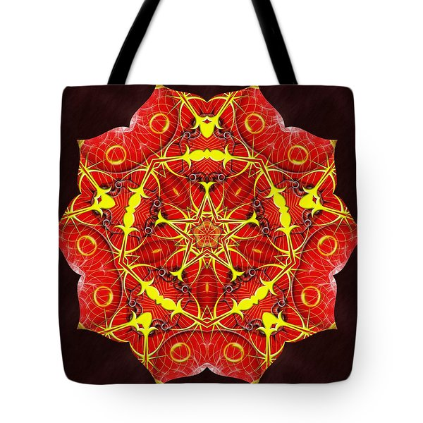 Cosmic Masculine Firestar Tote Bag