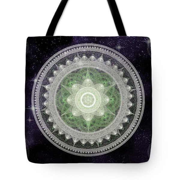 Cosmic Medallians Rgb 2 Tote Bag by Shawn Dall