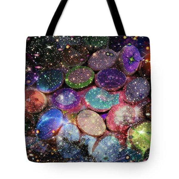 Cosmic Ovule Tote Bag