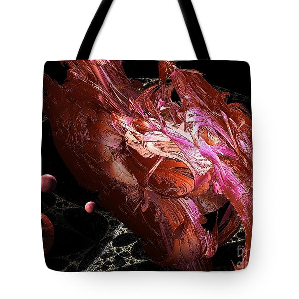 Cosmic Planets Tote Bag