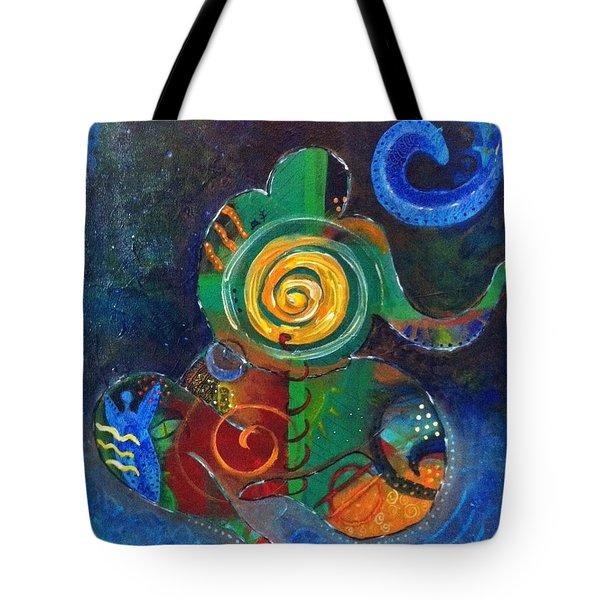 Cosmic Presence Tote Bag by Indigo Carlton