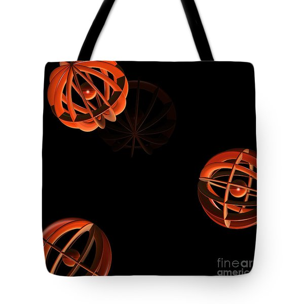 Cosmic Pumpkins By Jammer Tote Bag by First Star Art