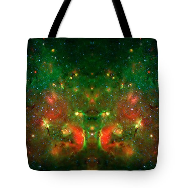 Cosmic Reflection 1 Tote Bag by Jennifer Rondinelli Reilly - Fine Art Photography