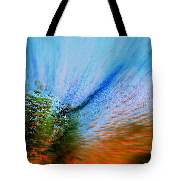 Cosmic Series 006 - Under The Sea Tote Bag