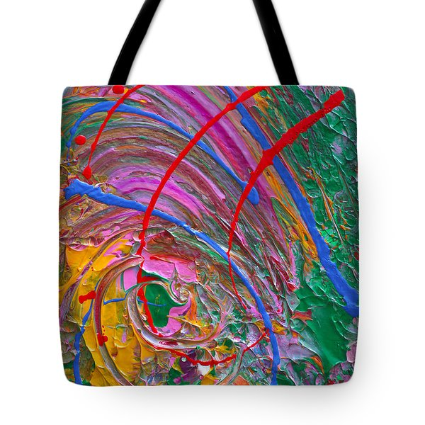 Cosmic Thoughts Tote Bag by Donna Blackhall