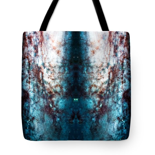 Cosmic Winter Tote Bag by Jennifer Rondinelli Reilly - Fine Art Photography