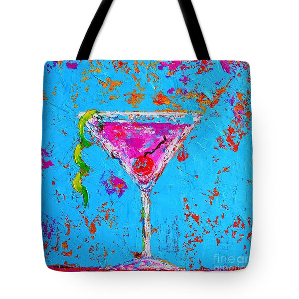 Cosmopolitan Martini Cherry Flavored - Modern Art Tote Bag