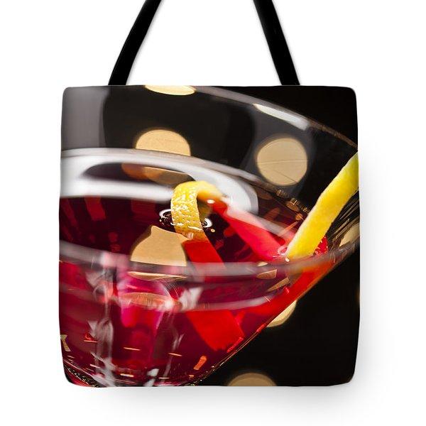 Cosmopolitan On The Dance Floor Tote Bag