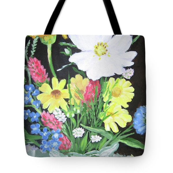 Cosmos And Her Wild Friends Tote Bag