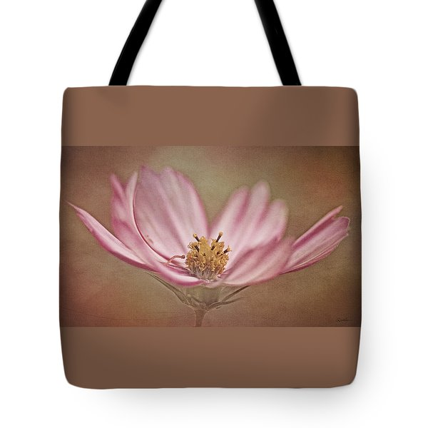 Tote Bag featuring the photograph Cosmos by Ann Lauwers