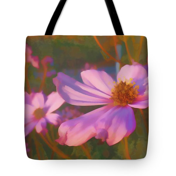 Cosmos Twilight Tote Bag