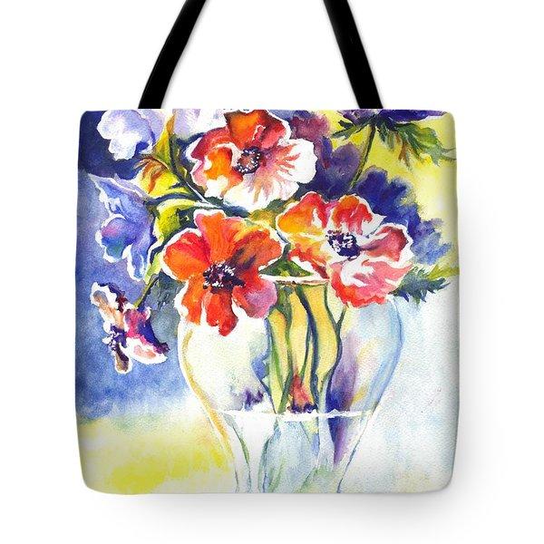 Cosmos I Tote Bag by Carol Wisniewski
