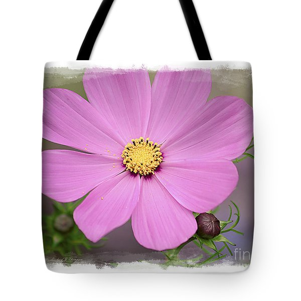 Tote Bag featuring the photograph Cosmos by Richard J Thompson