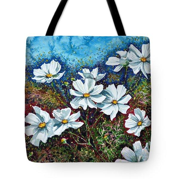Cosmos  Tote Bag by Zaira Dzhaubaeva
