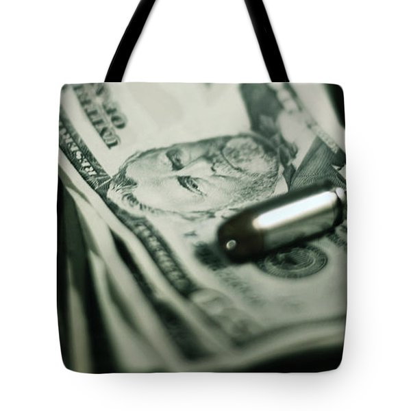 Cost Of One Bullet Tote Bag