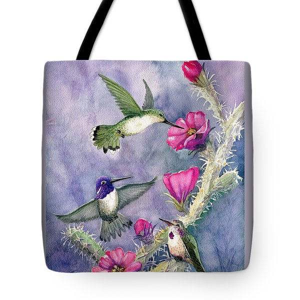 Costa Hummingbird Family Tote Bag