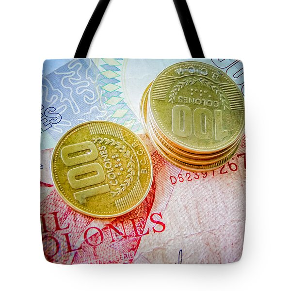 Costa Rica Colones Tote Bag