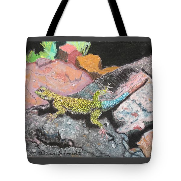 Costa Rican Lizard Tote Bag