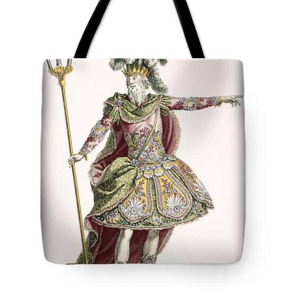 Costume For Neptune In Several Operas Tote Bag