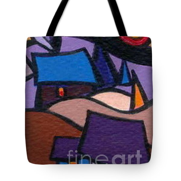 Cosy Country Cabins Tote Bag by Joyce Gebauer
