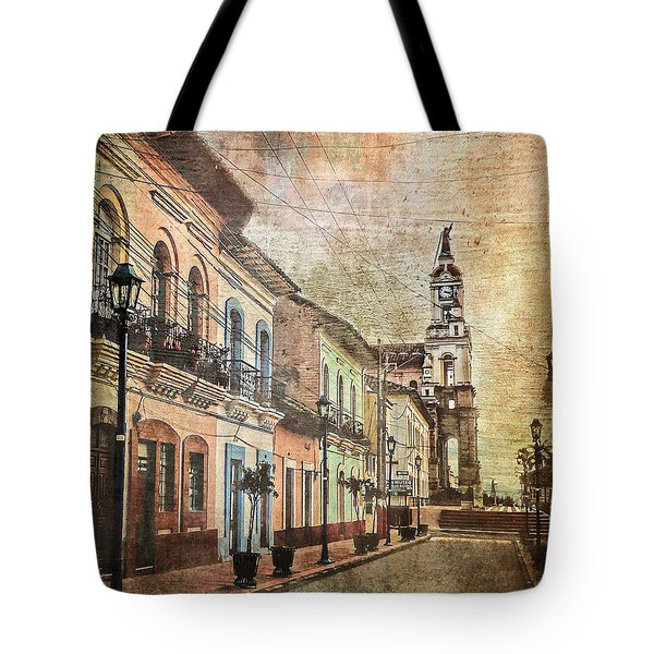 Cotacachi Morning Tote Bag