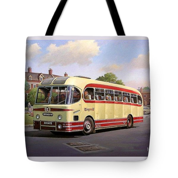 Cotswold Tour 1957 Tote Bag by Mike  Jeffries