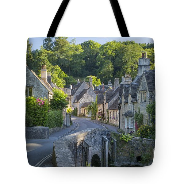 Cotswold Village Tote Bag by Brian Jannsen